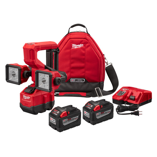 Milwaukee 2122-22HD M18 18V 9.0 Ah Cordless Lithium-Ion Utility Bucket Light Kit
