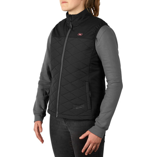Milwaukee 333B-202X M12 Heated Women's AXIS Vest (2X/Black) (Bare Tool)