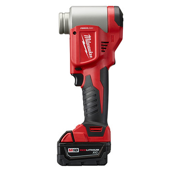Milwaukee 2676-22 M18 FORCE LOGIC Cordless Lithium-Ion High Capacity Knockout Kit with EXACT 1/2 - 2 in. Knockout Set image number 2