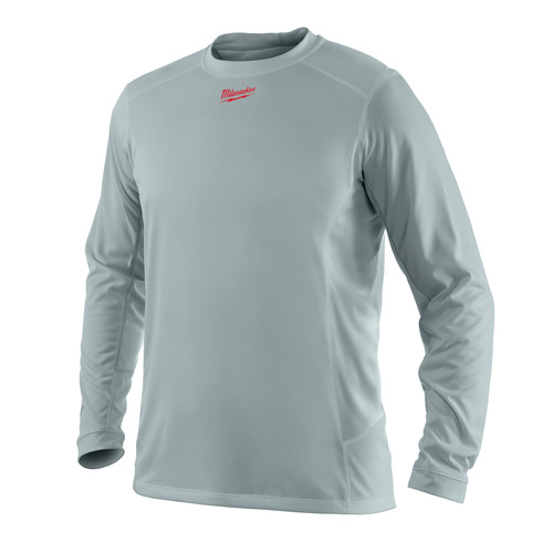 Milwaukee 411G-S WORKSKIN Light Weight Performance Long Sleeve Shirt - Small image number 0