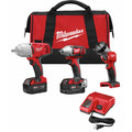 Milwaukee 2696-23 M18 Lithium-Ion 3-Tool Combo Kit