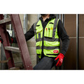 Milwaukee 48-73-5041 High Visibility Performance Safety Vest - Small/Medium, Yellow image number 4