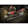 Milwaukee 6143-31 11 Amp 4-1/2 in. / 5 in. Braking Small Paddle No-lock Angle Grinder image number 3