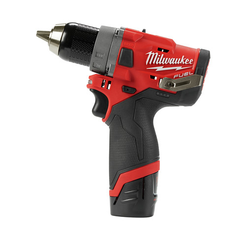 Milwaukee 2503-22 M12 FUEL Lithium-Ion 1/2 in. Cordless Drill Driver Kit (4 Ah) image number 3