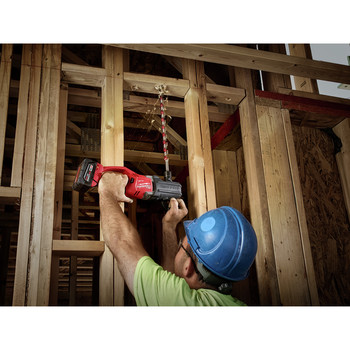 Milwaukee 2708-20 M18 FUEL HOLE HAWG Lithium-Ion 1/2 in. Cordless Right Angle Drill with QUIK-LOK (Tool Only) image number 2