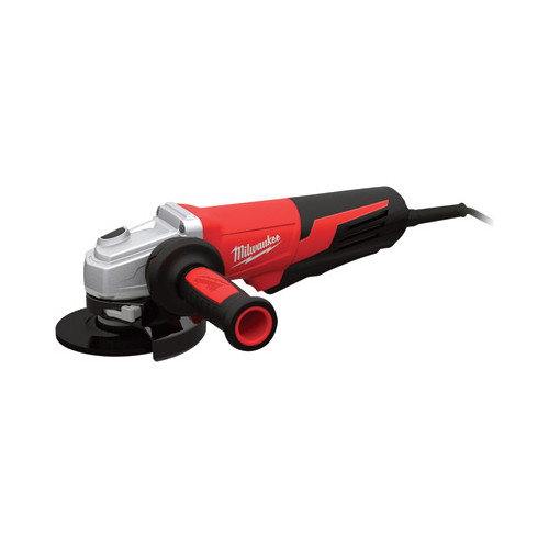 Factory Reconditioned Milwaukee 6117-830 5 in. 13 Amp Paddle Switch Small Angle Grinder with Lock-On Button