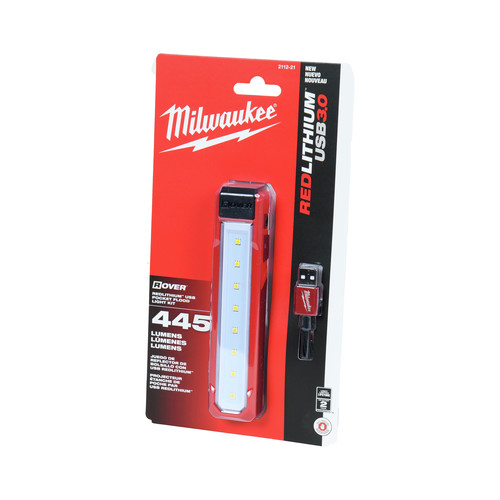 Milwaukee 2112-21 USB Rechargeable Rover Pocket Flood Light image number 0