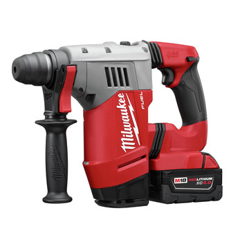 Milwaukee 2715-22 M18 FUEL Lithium-Ion 1-1/8 in. SDS Plus Rotary Hammer Kit image number 1