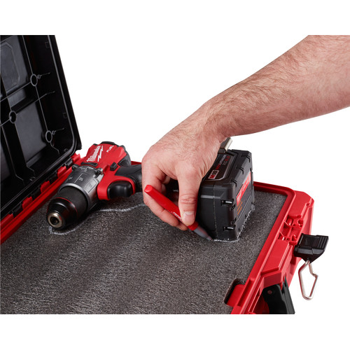 Milwaukee 48-22-8450 Packout Tool Case with Foam Insert image number 2