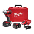 Milwaukee 2659-22 M18 Lithium-Ion 1/2 in. Impact Wrench Kit with Pin Detent