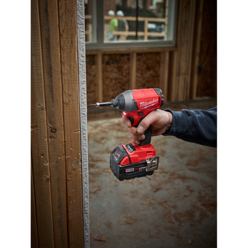 Milwaukee 2753-22 M18 FUEL 5.0 Ah Lithium-Ion 1/4 in. Hex Impact Driver Kit image number 5
