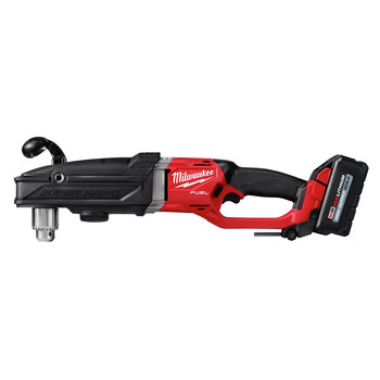 Milwaukee 2809-22 M18 FUEL SUPER HAWG Lithium-Ion 1/2 in. Cordless Right Angle Drill Kit (6 Ah) image number 1