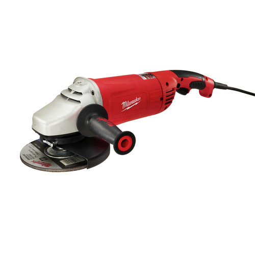 Milwaukee 6088-30 7 in./9 in. Large Angle Grinder with Lock-On Button