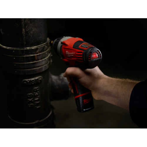 Milwaukee 2455-22 M12 12V Cordless Lithium-Ion No-Hub Driver Kit image number 6