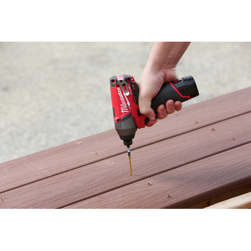 Factory Reconditioned Milwaukee 2597-82 M12 FUEL Li-Ion 1/2 in. Hammer Drill Driver & Impact Driver Combo Kit image number 7