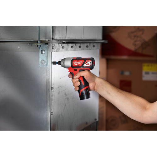 Milwaukee 2462-20 M12 12V Cordless Lithium-Ion 1/4 in. Hex Impact Driver (Tool Only) image number 5