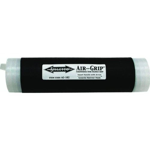 Stiletto AG-102 8 in. Airgrip Coldshrink Handle Grip Wrap Tube