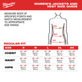 Milwaukee 233B-212X M12 12V Li-Ion Heated Women's AXIS Jacket Kit - 2XL image number 4