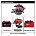 Milwaukee 2730-21 M18 FUEL Cordless 6-1/2 in. Circular Saw with (1) REDLITHIUM Battery image number 9