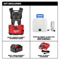 Milwaukee 2820-21WS M18 SWITCH TANK 4-Gallon Backpack Water Supply Kit image number 15
