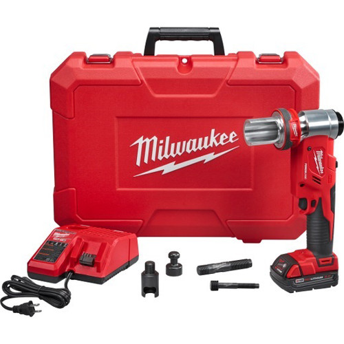 Milwaukee 2677-20 M18 Force Logic 18V Cordless Lithium-Ion 6T Knockout Tool Kit