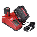 Milwaukee 2755B-22 M18 FUEL 5.0 Ah Cordless Lithium-Ion 1/2 in. Compact Impact Wrench with Friction Ring Kit image number 6