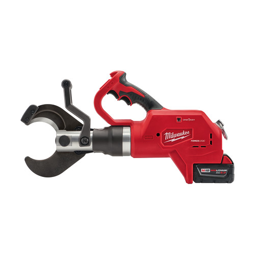Milwaukee 2776-21 M18 18V 5.0 Ah Cordless Lithium-Ion FORCE LOGIC 3 in. Underground Cable Cutter Kit with ONE KEY