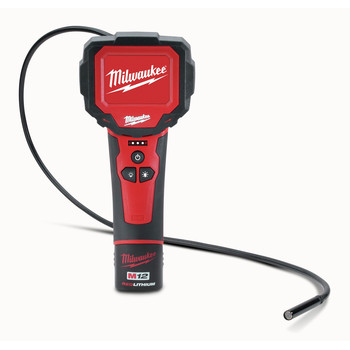 Milwaukee 2313-21 M12 Lithium-Ion M-SPECTOR 360 Rotating Digital Inspection Camera with 3 ft. Cable image number 1