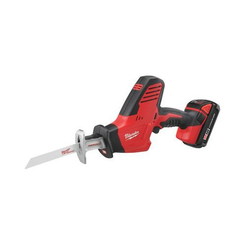 Factory Reconditioned Milwaukee 2625-81CT M18 18V Cordless Lithium-Ion Hackzall Reciprocating Saw with Compact Lithium-Ion Battery