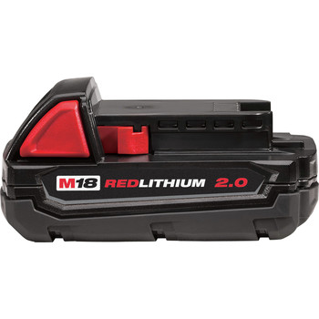 Milwaukee 2678-22BG M18 Force Logic 18V 2.0 Ah Cordless Lithium-Ion 6T Utility Crimper Kit with D3 Groves and Fixed BG Die image number 5