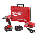 Milwaukee 2755-22 M18 FUEL 5.0 Ah Cordless Lithium-Ion 1/2 in. Compact Impact Wrench with Pin Detent Kit