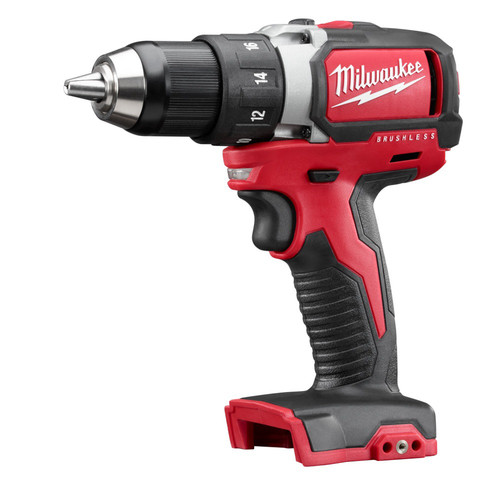 Factory Reconditioned Milwaukee 2701-80 M18 18V Cordless Lithium-Ion 1/2 in. Compact Brushless Drill Driver (Bare Tool)