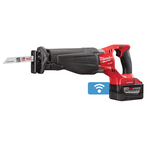 Milwaukee 2721-22HD M18 FUEL SAWZALL Reciprocating Saw Kit with ONE-KEY Technology image number 1