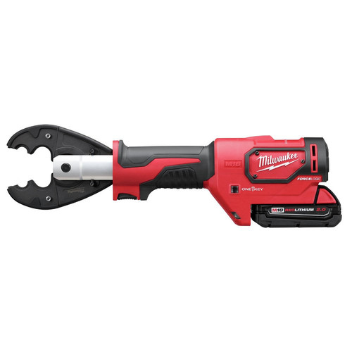 Milwaukee 2678-22BG M18 Force Logic 18V 2.0 Ah Cordless Lithium-Ion 6T Utility Crimper Kit with D3 Groves and Fixed BG Die image number 2