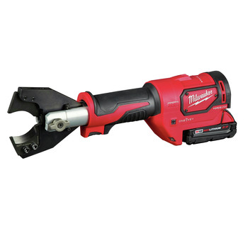 Milwaukee 2672-21F M18 FORCE LOGIC Cordless Cable Cutter Kit with Fine Stranded Wire Jaw image number 1