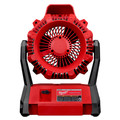 Milwaukee 0886-20 M18 18V Portable Jobsite Fan with AC Adapter (Tool Only) image number 1