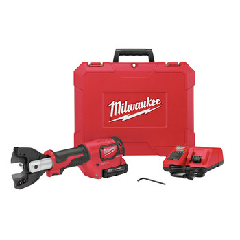 Milwaukee 2672-21F M18 FORCE LOGIC Cordless Cable Cutter Kit with Fine Stranded Wire Jaw image number 0