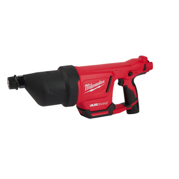 Milwaukee 2572B-21 M12 AIRSNAKE Drain Cleaning Air Gun Kit image number 1