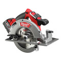 Factory Reconditioned Milwaukee 2731-82 M18 FUEL Cordless Lithium-Ion 7-1/4 in. Circular Saw Kit with 2 Batteries image number 2