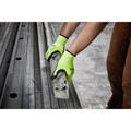 Milwaukee 48-73-8933B 12-Piece Cut Level 3 High Visibility Polyurethane Dipped Gloves - XL image number 2