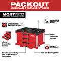 Milwaukee 48-22-8443 PACKOUT 50 lbs. Capacity 3-Drawer Tool Box image number 3