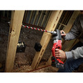 Milwaukee 2708-22 M18 FUEL HOLE HAWG Lithium-Ion 1/2 in. Cordless Right Angle Drill Kit with QUIK-LOK (5 Ah) image number 6