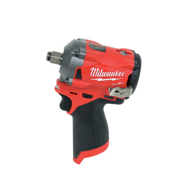 Milwaukee 2555-22 M12 FUEL Stubby 1/2 in. Impact Wrench with Friction Ring Kit image number 2