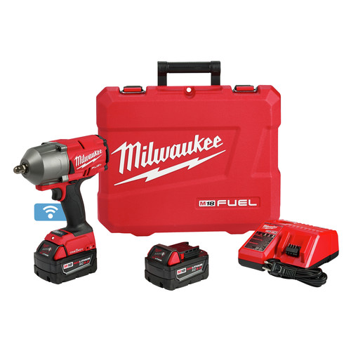 Milwaukee 2862-22 M18 FUEL with ONEKEY High Torque Impact Wrench 1/2 in. Pin Detent Kit