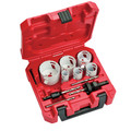 Milwaukee 49-22-4095 10-Piece HOLE DOZER Electrician's Bi-Metal Hole Saw Kit image number 0