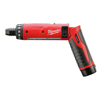 Milwaukee 2101-21 M4 Lithium-Ion 1/4 in. Hex Screwdriver with 2.0 Ah REDLITHIUM Battery image number 1