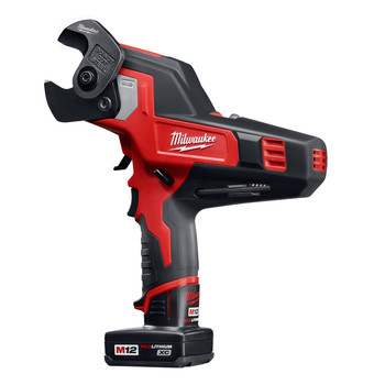 Milwaukee 2472-21XC M12 12V Cordless Lithium-Ion 600 MCM Cable Cutter Kit with XC Battery image number 1