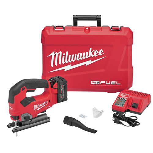 Milwaukee 2737-21 M18 FUEL D-Handle Jig Saw Kit