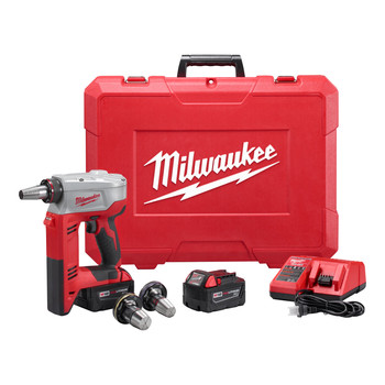 Milwaukee 2632-22XC M18 ProPEX 18V Cordless Lithium-Ion Expansion Tool with 2 XC Batteries image number 2