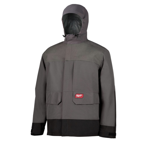 Milwaukee 310G-S 2.5 Layer Rain Shell - Gray, Small image number 0
